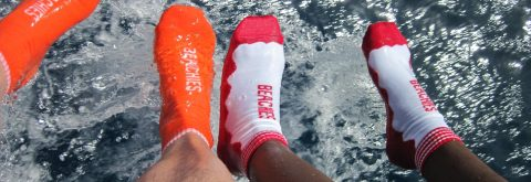 BEACHIES® - Made in Germany - viel mehr als Strandsocken, Wattsocken oder Surfsocken ...!